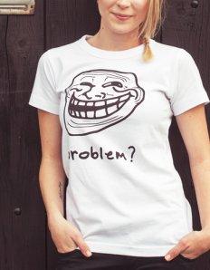 Tričko Trollface
