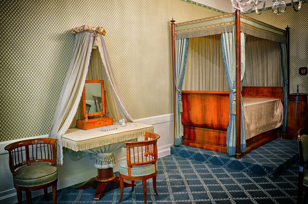 Moderní ložnice pro zdravý spánek a relaxaci