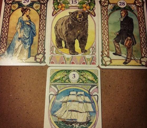 Cikánské a karty Madam Lenormand