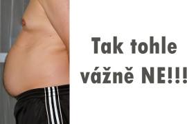 Zatočte se svým velkým břichem