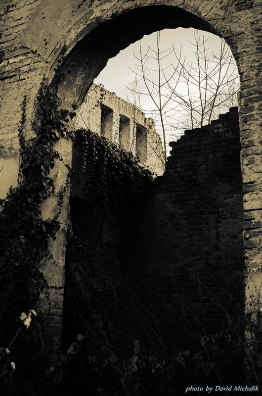 Ruina. Je škoda, že se o tento kostel potažmo hřbitov nikdo dlouhá léta nestará