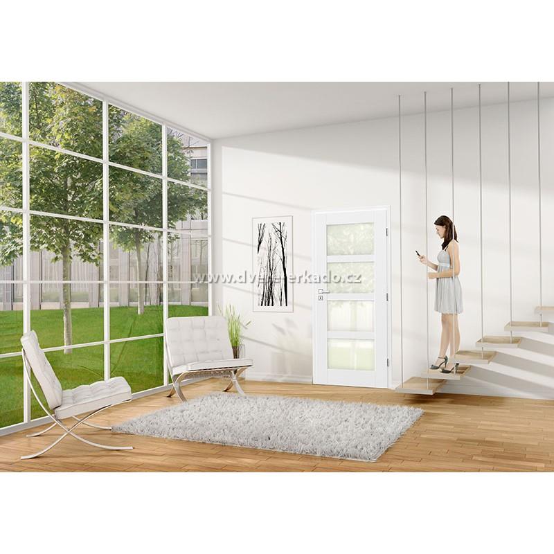 Interiérové dveře lze vybírat v mnoha variantách